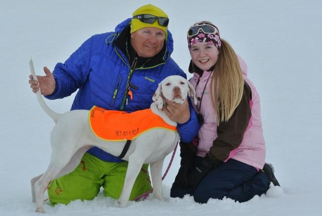 Snow Queen, Mathilde Maurseth-Engh 10 år og Thomas Engh