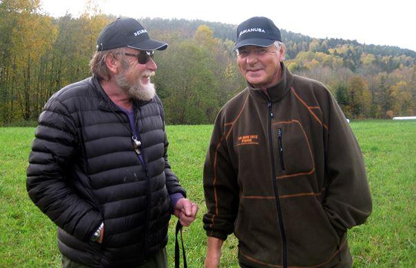 Bjørn Plassgård og Kjell Duedahl
